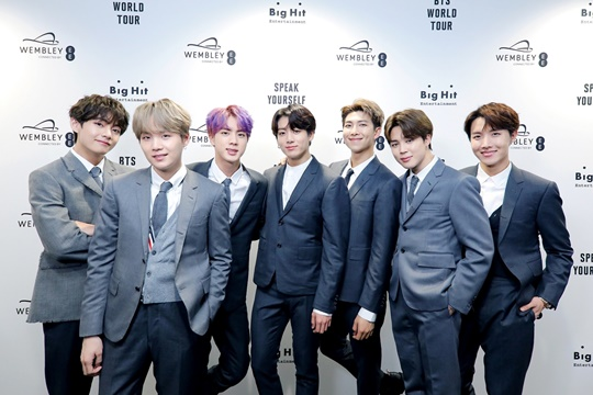 BTS is ranked 43rd in the world's highest-earning celebrity list by U.S. Forbes.