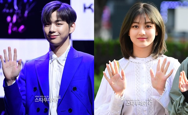 "Kang Daniel♥TWICE Jihyo, a romantic rumor……Both agencies said they are ""under confirming"" (official)"