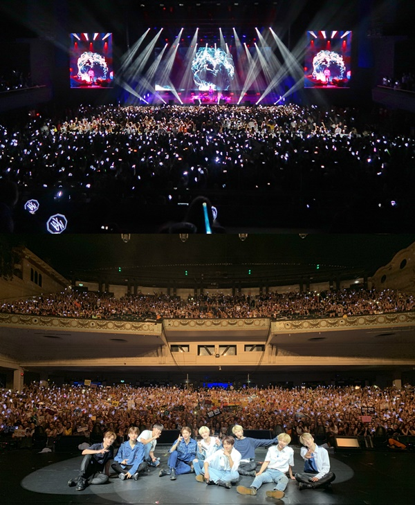 "Stray Kids successively finished their first  Europe showcase tour…...""Next K-pop representative group"""