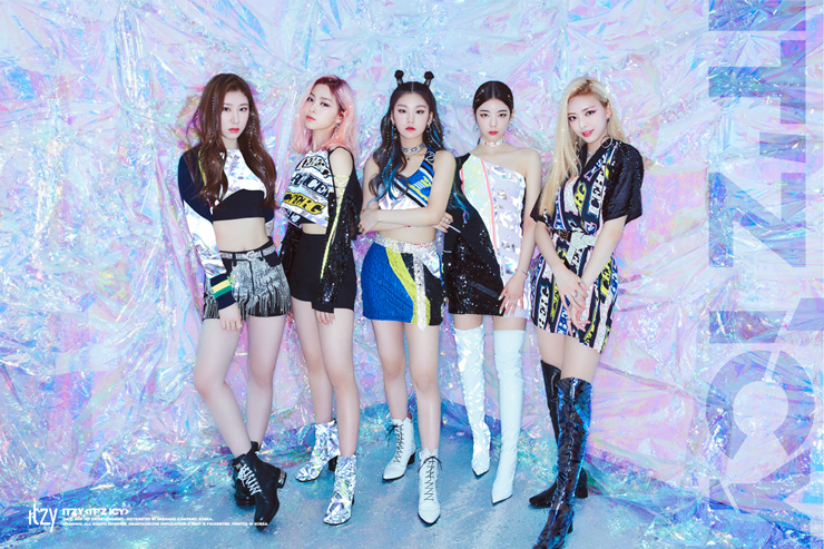 ITZY has won the first place at the four-times in music broadcasting, and their music video has broken through with over 60 million views