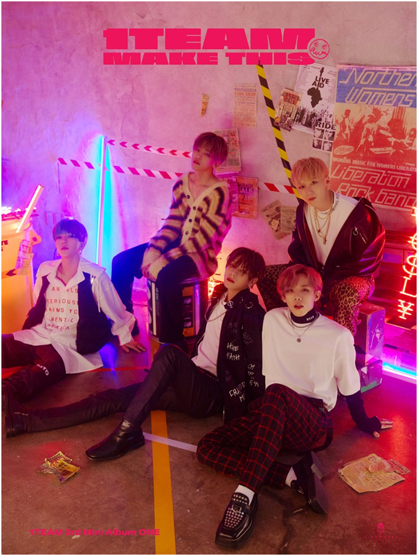 "Group 1TEAM Unveils their Concept Photo of their Title Song ""Make This"""