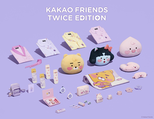 TWICE X Kakao Friends Goods Global Launch Direct Design Involvement