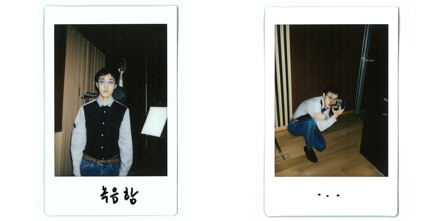 Zion.T come back in 1 year? Polaroid of working new song released