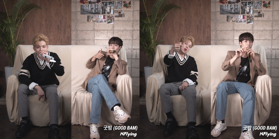 N.flying 'Good Night' vocal version live video released.