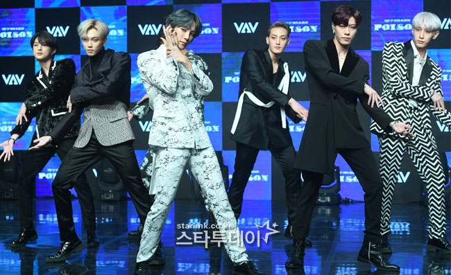"""[Curtain Call] """"Came back Before Military Service"""" ... VAV with 'Poison'."""