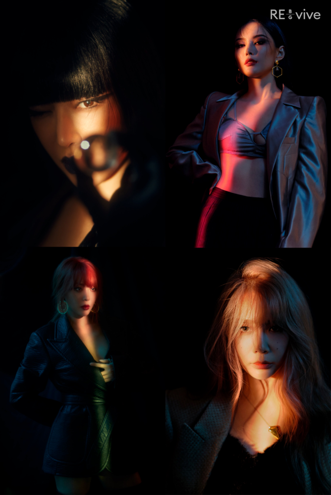 Brown Eyed Girls 4 Members 4 Color Official Photo… Girl Crush