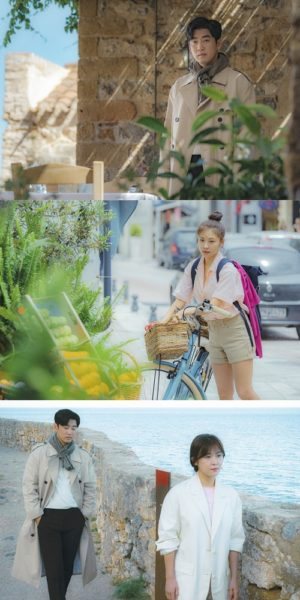 First still cut of Yoon Gye-sang and Ha Ji-won's 'chocolate'