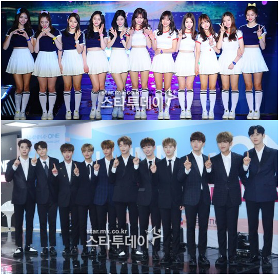 'Produce Season 1 and 2' also capture operational situations… I.O.I, Wanna One