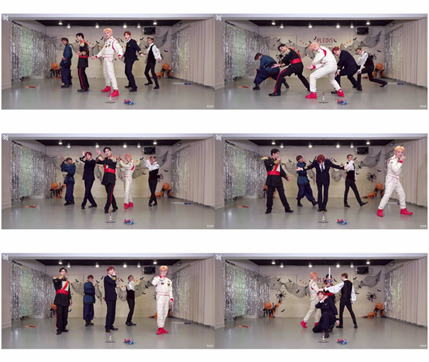 NU'EST releases 'LOVE ME' Halloween version choreography video ... 'Express fan love'