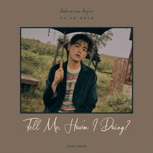 Eric Nam transformed into a Autumn man in his first English album 'Before We Begin'
