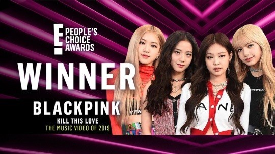 BLACKPINK grabbed 3 Crown at E! People's Choice Award