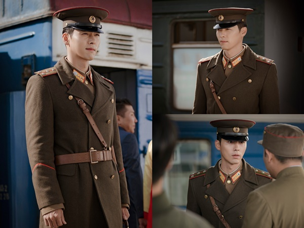 'Crash Landing On You' Hyun Bin unveils sculpted looks +charisma in military uniform