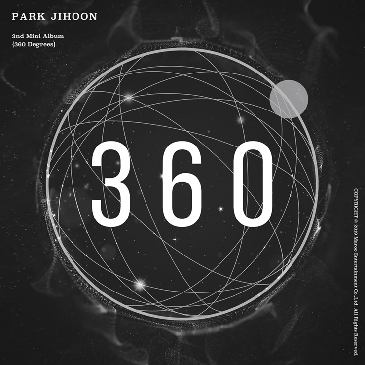 Park Ji-hoon, to meet on stage ... released 2nd mini album '360' today(4th)