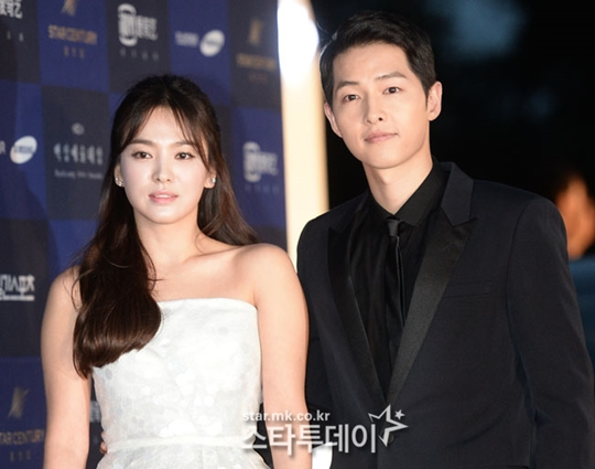 Chinese Media claims that Song Hye-kyo and Song Joong-ki are reconciling