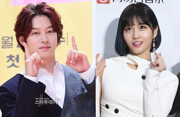 Kim Hee-chul and Momo are relationship... Developing a beautiful love despite busy schedules