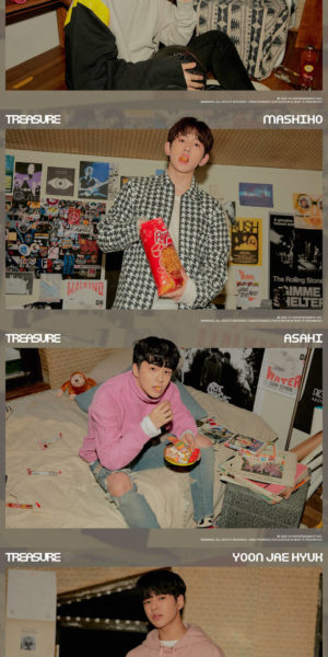 YG released profile of TREASURE members Mashiho, Jaehyuk, Asahi, Yedam