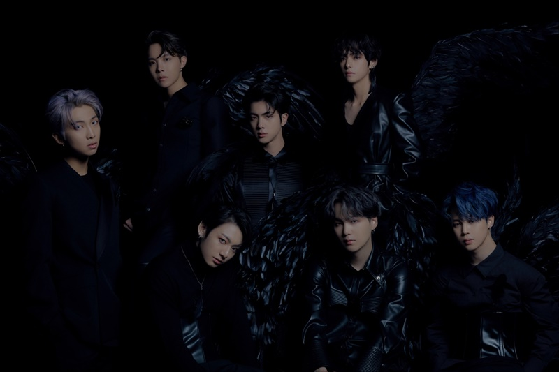 BTS unveiled second concept photo… Black swans with quenchable thirst