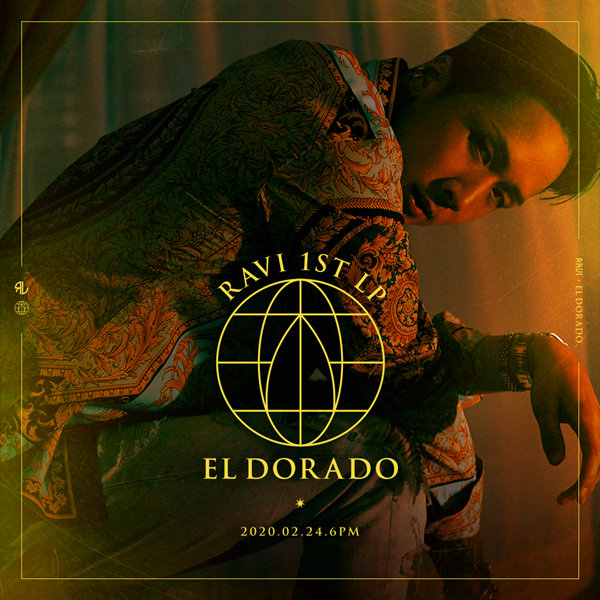 Beyond VIXX… Ravi unveils solo first regular album 'Eldorado' on 24th