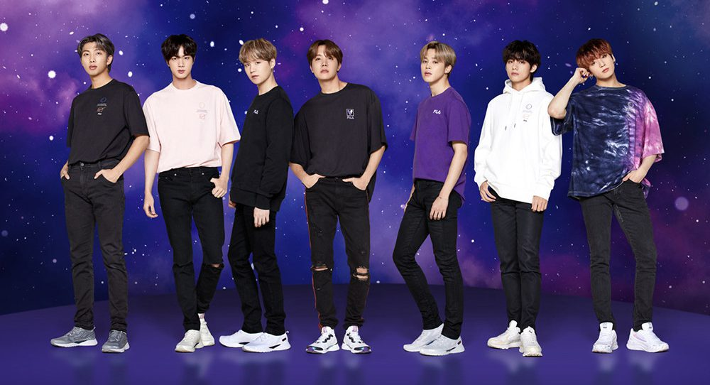 BTS Collaboration with Fila:Voyager Collection
