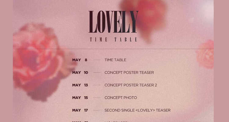 Gong Minzy to return with single 'LOVELY' on May 24