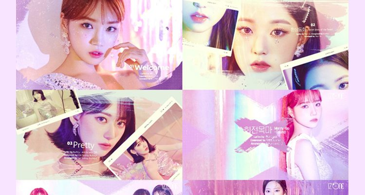 IZ*ONE unveils the highlight medley of the new song 'Oneiric Diary'
