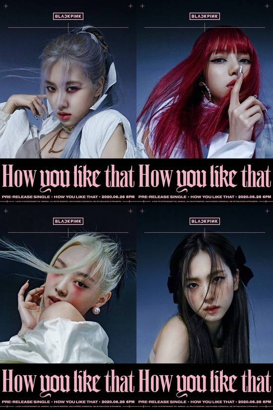BLACKPINK unveil 'How You Like That' posters featuring oriental visual