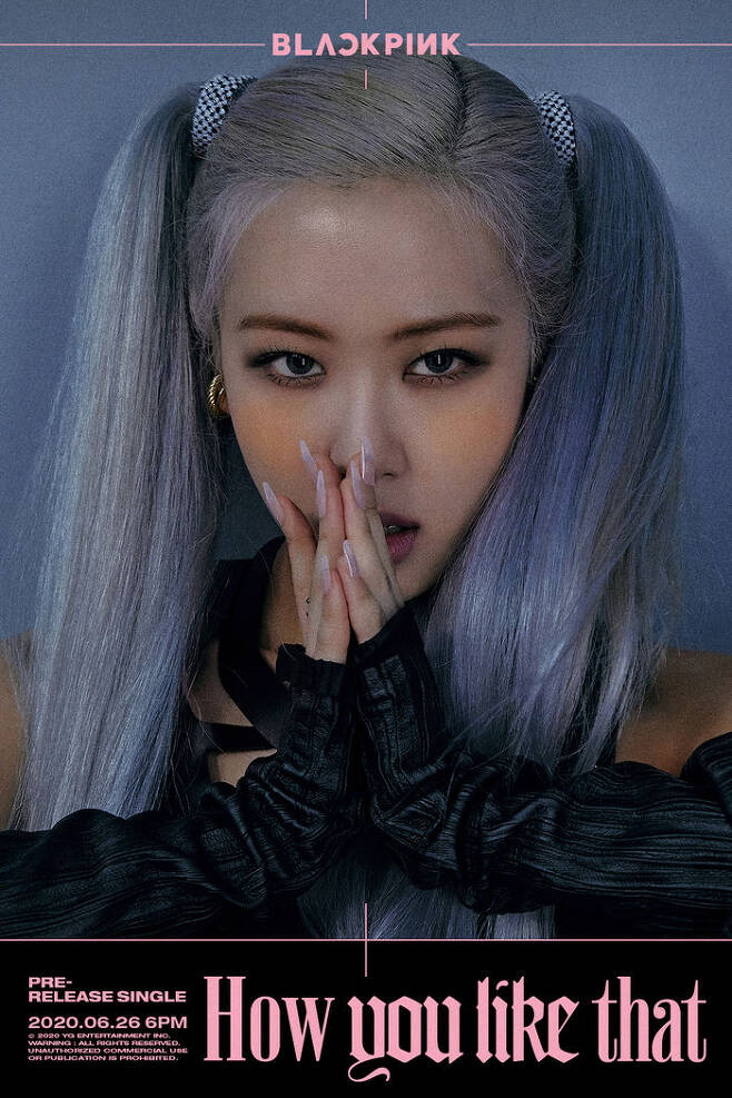 BLACKPINK dropped second concept posters…