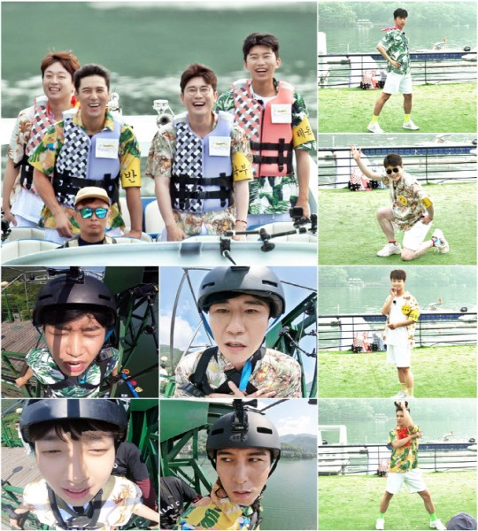 'Mulberry School' Lim Young-Woong, Young-Tak Lee Chan-Won, and Jang Min-Ho, Bungee Jump Challenge... Special feature for summer