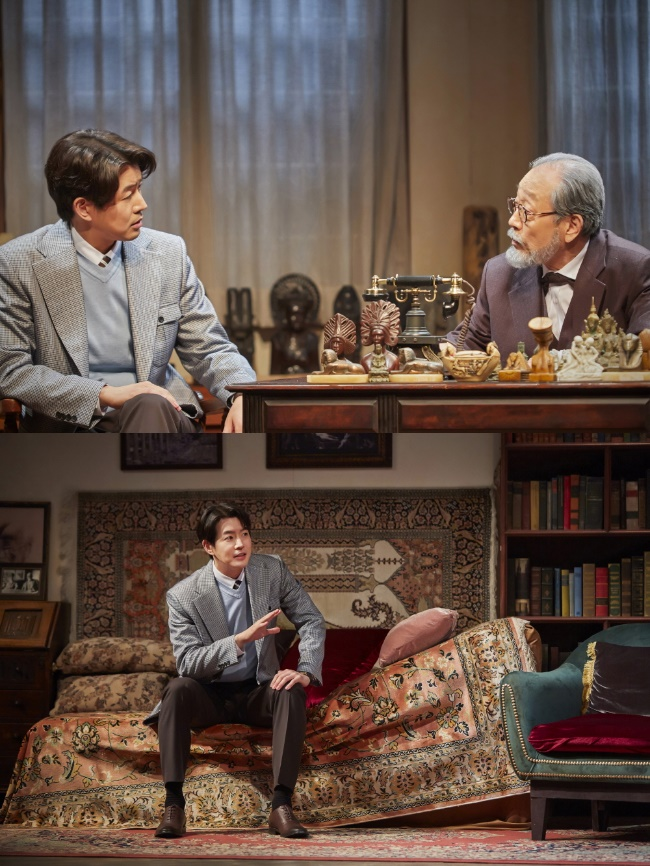 "'Freud's Last Session' Lee Sang-yoon, first stage decoration at the Korean premiere ""I feel like a challenge every moment"""