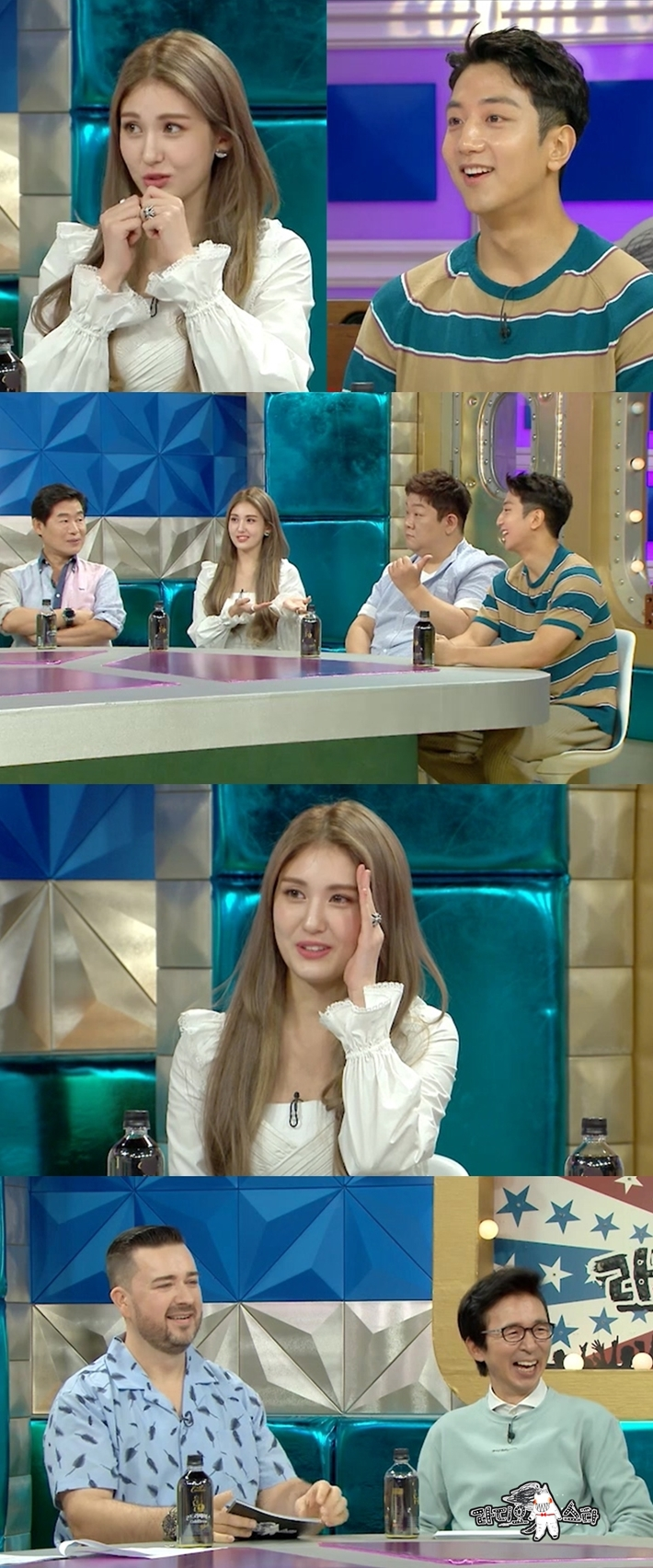 'Radio Star' Jeon So-mi X Heo Hoon, after the first contact with Ponting... awkward X subtle airflow