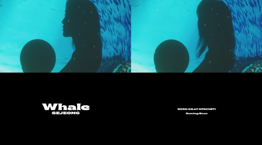 Sejeong to release her own song 'Whale' on the 17th...Teaser surprise release