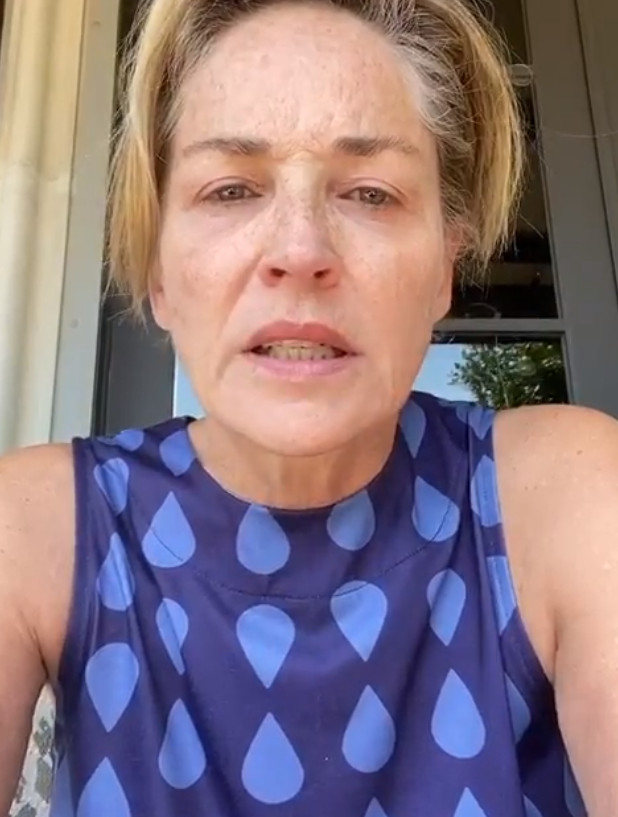 Sharon Stone expressed anger over her younger sister couple's Covid-19 infection...Due to those who are going outside without face mask