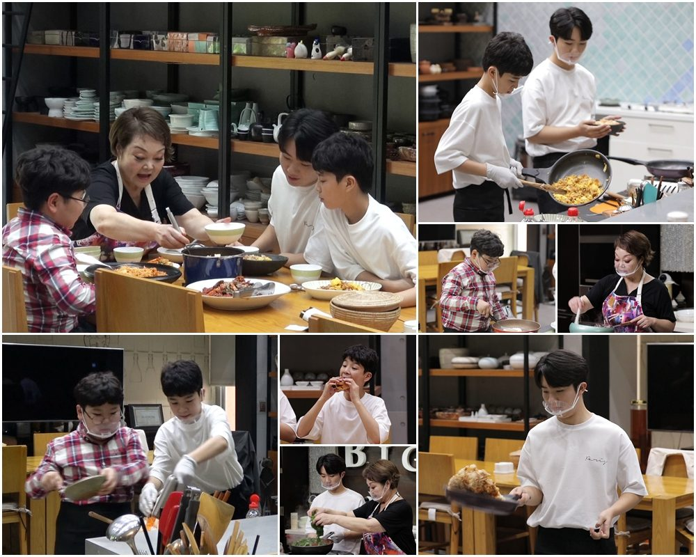 'The taste of wife' Jung Dong-won, Nam Seung-min, Lim Do-hyung, learn cooking from Big Mama