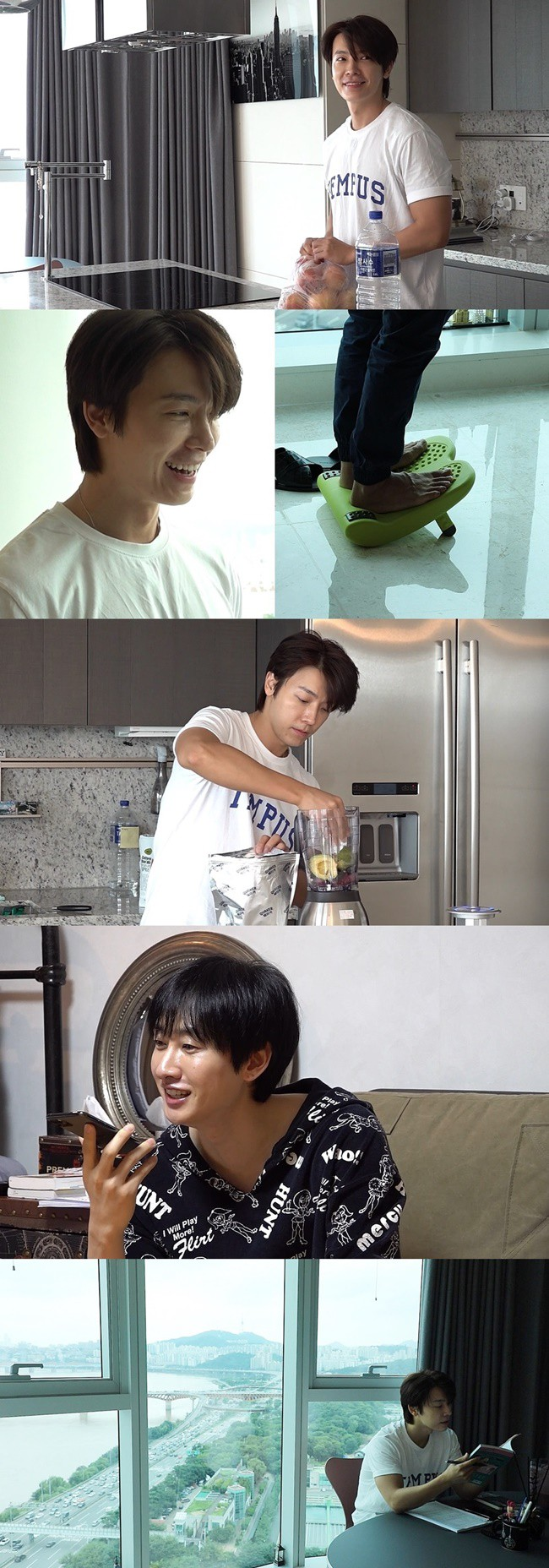 'At the time of war' Donghae, first in observed TV show