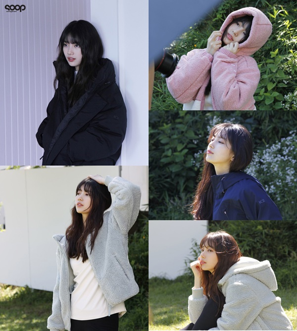 Suzy, every moment is a pictorial... Public behind-the-scenes cut