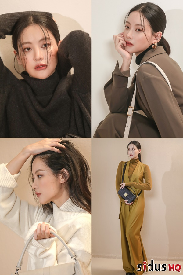 Oh Yeon-seo pictorial behind-the-scenes released... Perfect fall styling