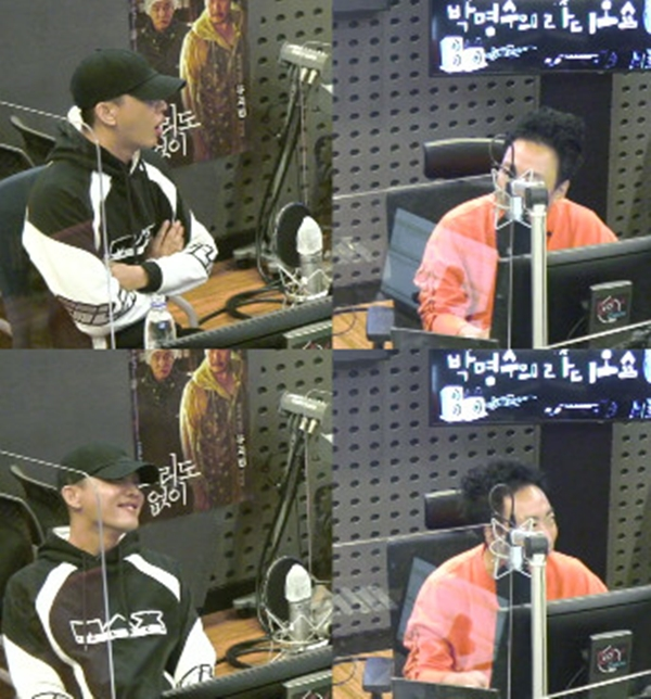 "'Radio Show' Yoo Ah-in, ""A casual appearance to keep the promise with Park Myung-soo"""
