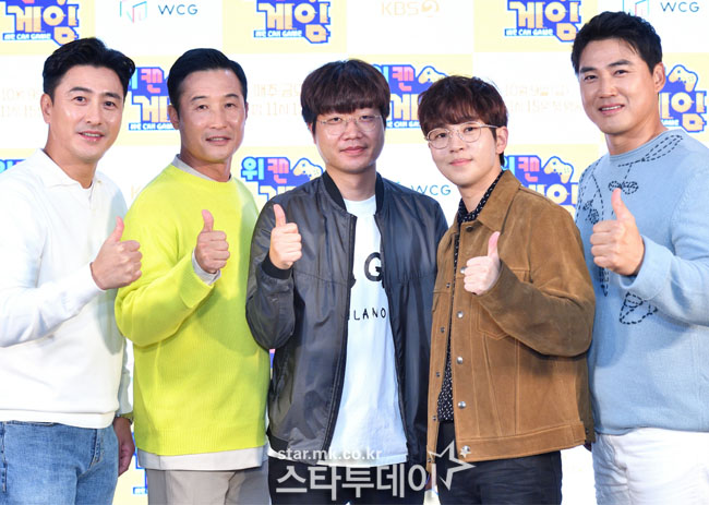 [Photo] Ahn Jung-Hwan, Lee Eul-Yong, Hong Seong-heu, DinDin, Legends' Game Challenge