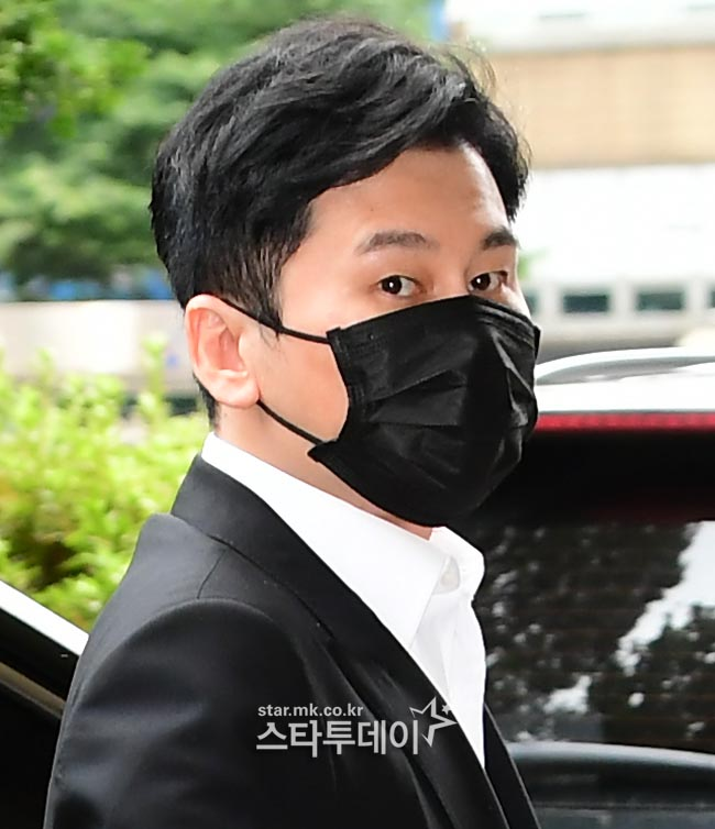 Prosecutors seek a 10 million won fine for Yang Hyun-seok