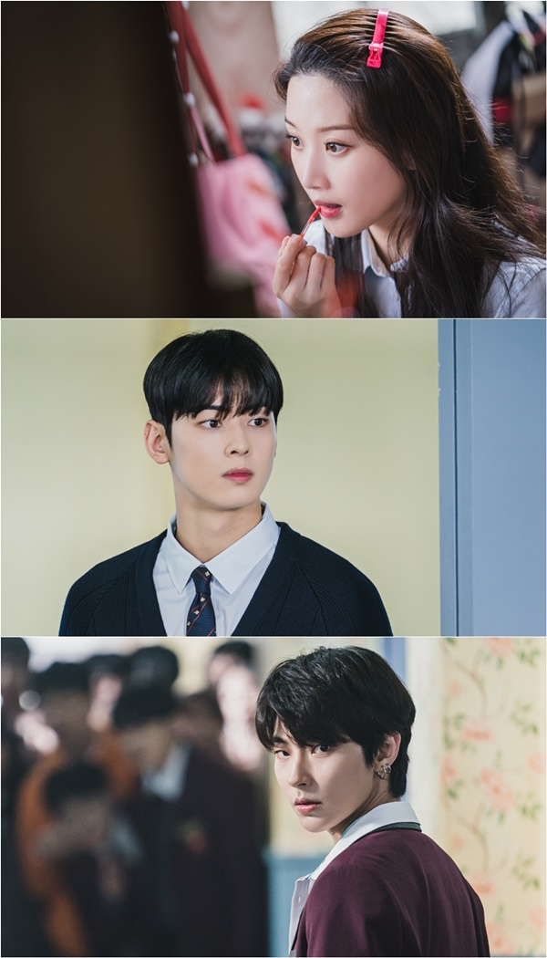 'True Beauty' Moon Ga-young, Cha Eun-woo, Hwang In-yeop, and a freshly sweet Loco to strike women's hearts