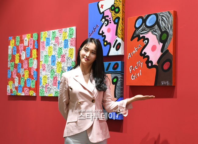 [Photo] Park Gyu-ri, transformed into a curator