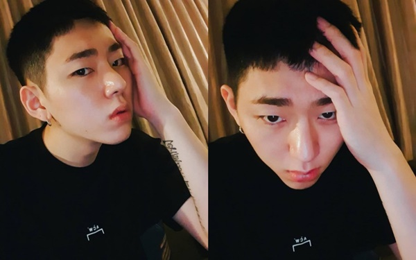 """Zico posted his photo after 5 months of enlistment """"I'm alive"""""""
