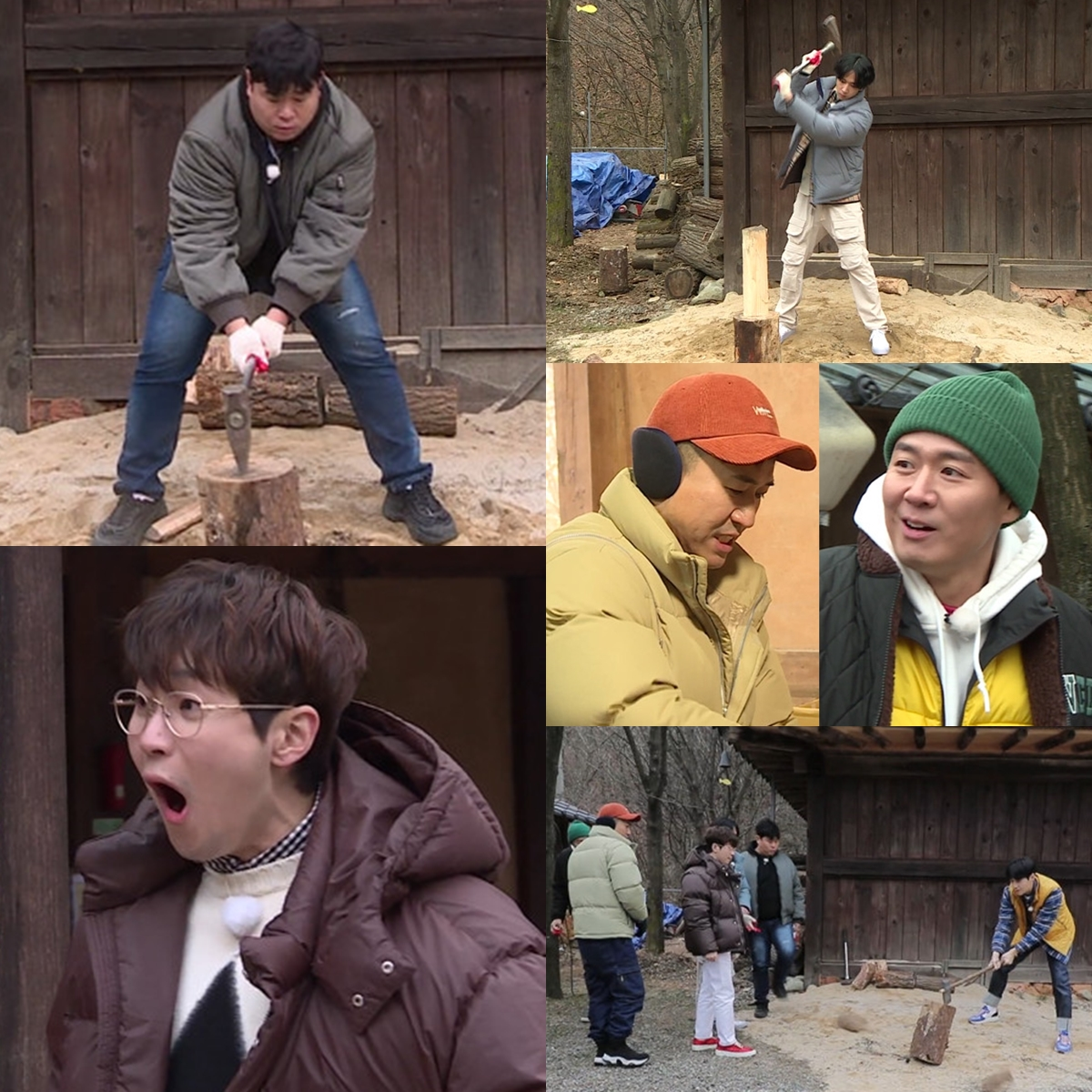 '2 Days & 1 Night' Moon Se-yoon surprised members by cutting firewood