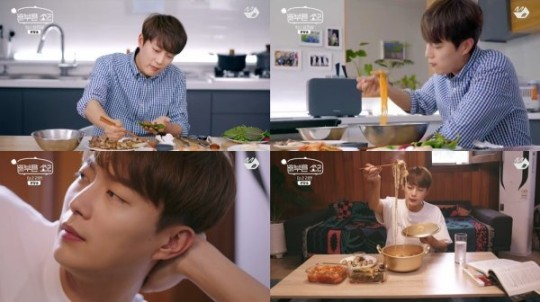 'Sound of fullness' Yoon Doo-jun, history of pork belly + ramen meal... A food star with a reason