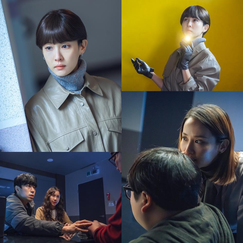 'Cheat on me, If you can' Jo Yeo-jung, leather jacket and gloves 'severe look'
