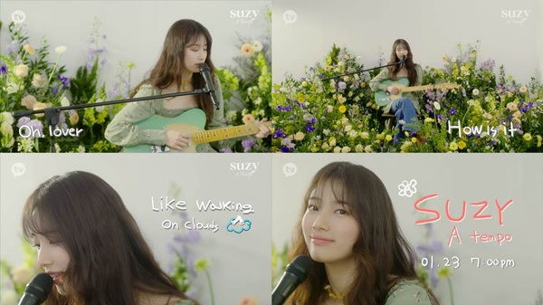 Suzy's own song'Oh, Lover' pre-released... The 10th anniversary of the debut