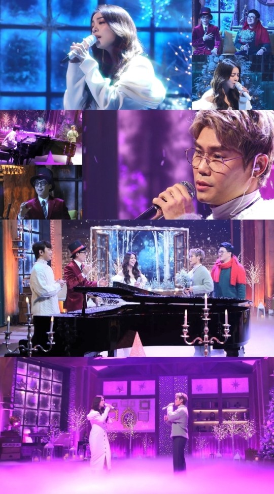 'How do you play?-Winter Song Rescue Operation' Kim Beom-soo and Ailee meet the masters of winter OST