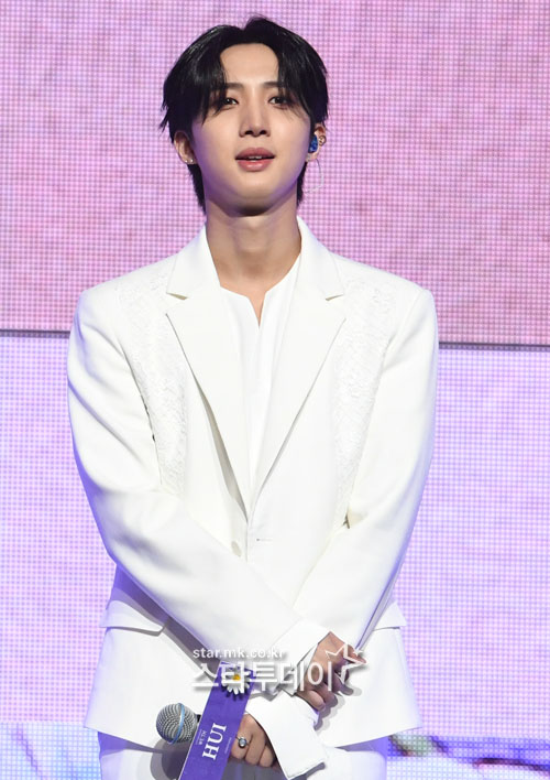 """Announcement of Hui's enlistment """"Admitted on the 18th, fulfilling duty as a social worker"""""""