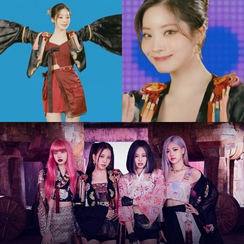"""JYP apologies... """"We are sorry for failing to recognize the copy of costume"""" Controversy over Similarity in BLACKPINK Costumes"""