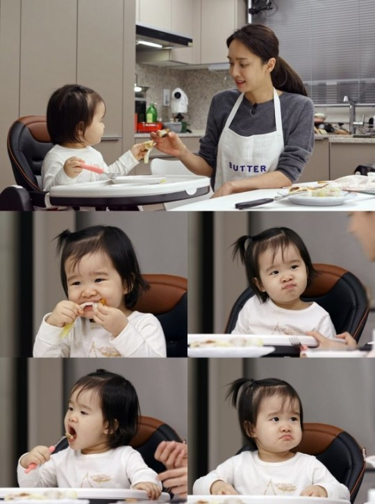 'Funstaurant' Park Jung-ah is on the show with her 21-month-old daughter